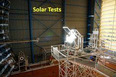 Reator solar gera água e oxigênio a partir do solo lunar