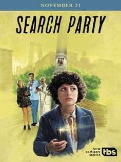 Alia Shawkat, Meredith Hagner, and John Reynolds in Search Party (2016)
