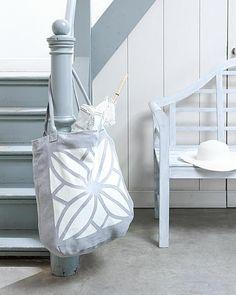 DIY beach bag by Ariadne at Home