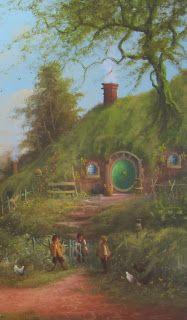 The Lord of the Rings Blog (Joe Gilronan Tolkien Art)