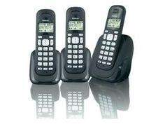 Basis met handset en 2 extra handsets Telefoonboek voor 20 nummers Naam- en nummerweergave Instelbare beltonen GAP compatible Standbytijd 100 uur Beltijd 10 uur Nummerherhaling Alarm (wek) functie Intercom en doorverbinden Toetsenbordslot Mute functie Eco -