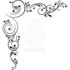 corner designs vector - Google Search