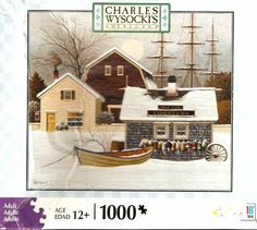 Charles Wysocki's Americana 1000 piece Puzzles Lobster House (#04679-H14) Hasbro http://www.amazon.com/gp/aag/main?ie=UTF8&asin=&isAmazonFulfilled=1&isCBA=&marketplaceID=ATVPDKIKX0DER&orderID=&seller=A38PXIFH7Q1D8O