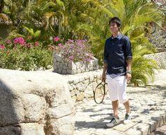 Kei Nishikori Photos: Tennis Pro Kei Nishikori Enjoying Some Down Time In Acapulco, Mexico