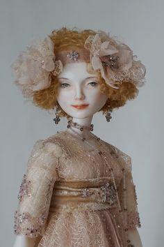 Charlotte. porcelain, 65cm