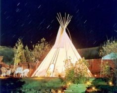I must have a tipi in the backyard to sleep in on hot summer nights.