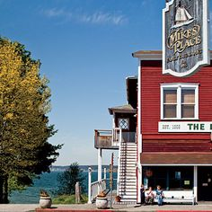 Dream Towns: Langley, Washington - Coastal Living  The Old Dog restaurant--excellent chili dogs in the 80's