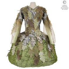 Un homme des bois. (a woodsman) Collection: Opéra National de Paris, Costumier: Claudie Gastine, Date de production: 1984.via Centre National du Costume de Scene
