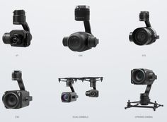 Zenmuse Gimbal Camera Options for the New DJI Matrice 200 Commercial Drone Series