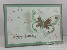 Stampin' Up! Watercolor Wings. Stamp With Kim Australia