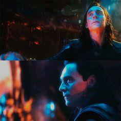 #TomHiddleston as #Loki in Avengers: #InfinityWar (2018)