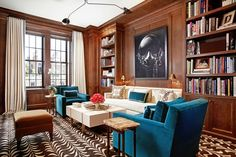 Historic NYC Apartment Gets a Glamorous Update from Designer Christina Murphy Photos Architectural Digest, Interior Decorating, Interior Design, Decorating Ideas, Decor Ideas, Best Interior, Interior Inspiration, Living Spaces, Living Rooms