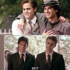 Stefan et Damon