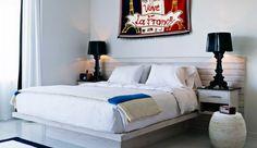 Crisp, white, modern artwork by Ann Carrington = cool