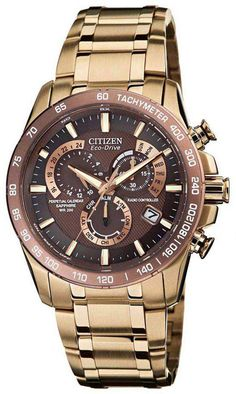 AT4106-52X, AT410652X, Citizen perpetual chrono a t watch, mens