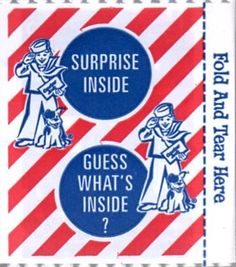 "Cracker Jacks Toys...Rick still saves the ""prizes"" for me when he has a box."