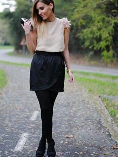 lapetiteblonde Outfit   Invierno 2013. Cómo vestirse y combinar según lapetiteblonde el 23-12-2013