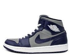 """NIKE AIR JORDAN 1 MID """"GEORGETOWN HOYAS"""" #sneaker"""