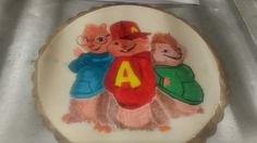Alvin cake topper  hand painted