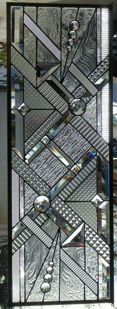 Stained Glass Window Hanging 12 3 4 X 35 3 4 Modern Stained Glass, Stained Glass Door, Stained Glass Designs, Stained Glass Panels, Stained Glass Projects, Stained Glass Patterns, Leaded Glass, Beveled Glass, Mosaic Glass