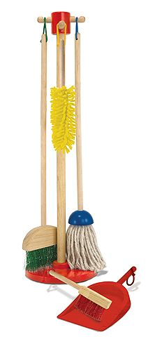 Lets Play House! Dust! Sweep! Mop! | New | Melissa and Doug