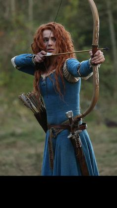 Looks like Merida from Once Upon A Time