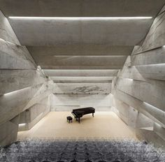 Architecture designed with acoustics in mind