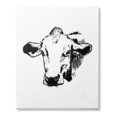 $24.99 cow canvas Happy Cow, Cow Canvas, Cowgirl Jewelry, Crazy People, Moose Art, Products, Cardiovascular Disease, Country Jewelry, Cowgirl Bling