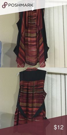 New light weight top Multi color light weight cardigan sleeveless Tops Blouses