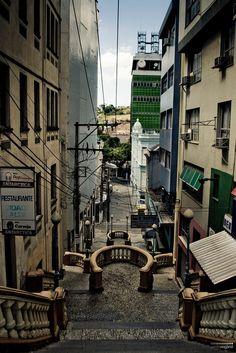 Escadaria Maria Ortiz - Cidade Alta ||| Vitória  ||| ES  (Paulo Nogarol)