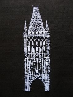 Lace Heart, Lace Jewelry, Bobbin Lace, Lace Detail, Arts And Crafts, Embroidery, Building, Pictures, Inspiration