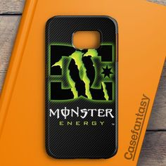 Dc Monster Energy Shoes Carbon Printed Samsung Galaxy S7 Edge Case | casefantasy