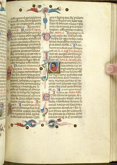 Breviary, MS M.0373 fol. 201r - Images from Medieval and Renaissance Manuscripts - The Morgan Library & Museum