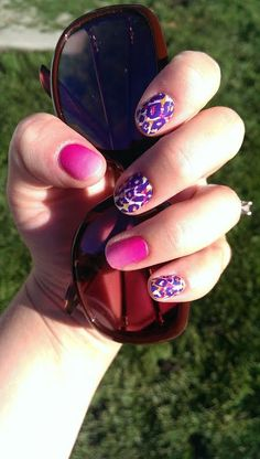 Funky Cheetah and Kiss Me Ombre- Perfect for summer!