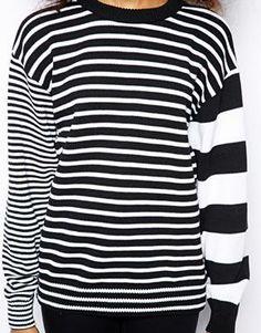 American Apparel Mixed Stripe Jumper | asos