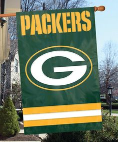 Look what I found on #zulily! Green Bay Packers Banner Flag by Party Animal #zulilyfinds