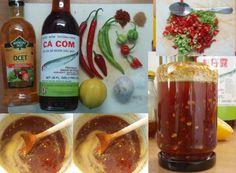 Thajská sladká chilli omáčka: