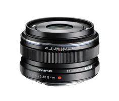Olympus 17mm f1.8 BLACK edition