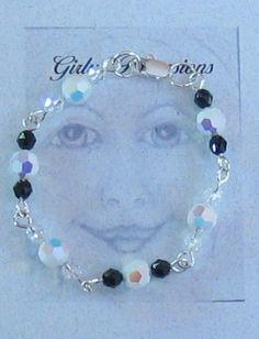 Little Girl Crystal Bracelet by GirlyPossessions on Etsy
