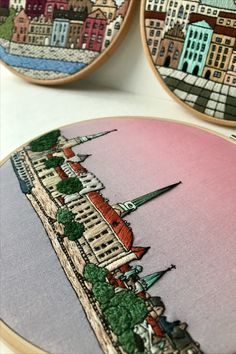Architectural embroidery Hand Embroidery Art, Design, Needlepoint