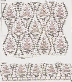Häkelmuster Fundgrube: Top im Ananas-Muster
