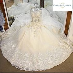 Where To Buy Christian Wedding Gowns In India - ShaadiWish White Wedding Gowns, Designer Wedding Gowns, Elegant Wedding Dress, Christian Wedding Dress, Christian Bride, Popular Wedding Dresses, Wedding Dress Trends, Types Of Gowns, Traditional Gowns