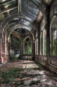 Beautiful but abandoned...