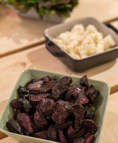 Balsamico-punajuuret | Maku Vegetarian Recepies, Vegan Recipes, Vegan Food, Food Food, No Salt Recipes, Just Eat It, Beef Dishes, Rice Dishes, I Foods
