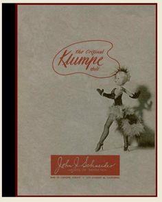 Merchant Catalog : 1950s / 1960s KLUMPE Dolls + Doll Models : Schneider Imports