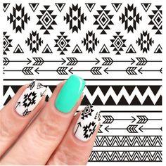 $0.79 (Buy here: https://alitems.com/g/1e8d114494ebda23ff8b16525dc3e8/?i=5&ulp=https%3A%2F%2Fwww.aliexpress.com%2Fitem%2FBORN-PRETTY-Watermark-Sticker-2-Patterns-Sheet-Tribal-Nail-Art-Water-Decals-Aztec-Transfer-Sticker-BP%2F32776409576.html ) 2 Patterns/Sheet BORN PRETTY Water Transfer Nail Art Sticker Watermark Decals Tribal Aztec DIY Decoration BP-W26  for just $0.79