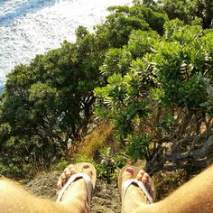 Reconnect with Nature more! You'll feel so much better. In this photo rocking some Maharohas flip flops! Double nature! Get them at www.maharohas.com