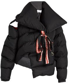 MARQUES'ALMEIDA Oversized asymmetric quilted jacket
