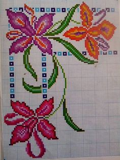 Seed Bead Flowers, Beaded Flowers, Seed Beads, Mexican Designs, Beaded Embroidery, Diy And Crafts, Cross Stitch, Crochet, Ely