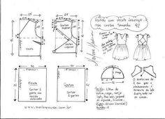 Выкройка летнего платья с открытой спиной (Шитье и крой) | Журнал Вдохновение Рукодельницы